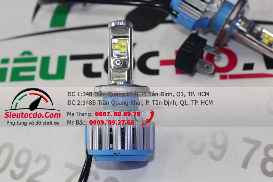 Led Turbo H4 T1 STD-369 STD