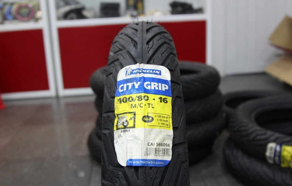 Vỏ xe máy Michelin City Grip 100/80-16 STD-709 Michelin