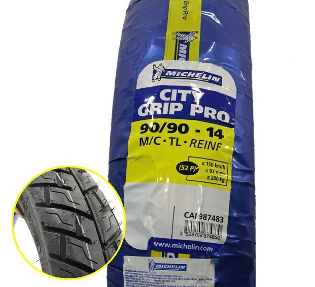 Vỏ xe Michelin City Grip Pro 90/90-14 STD-717 Michelin