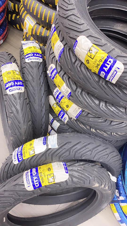 Vỏ Michelin City Grip 100/80-14 STD-1326 Michelin