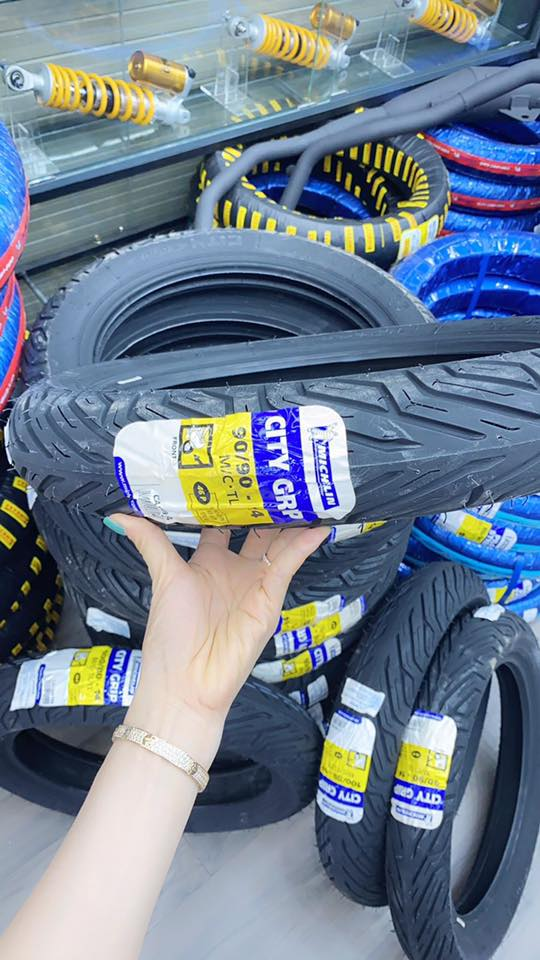 Vỏ Michelin City grip 90/90-14 STD-1325 Michelin