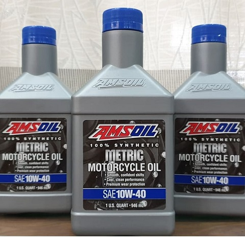 Amsoil 10W40 Synthetic Metric 1566 Amsol
