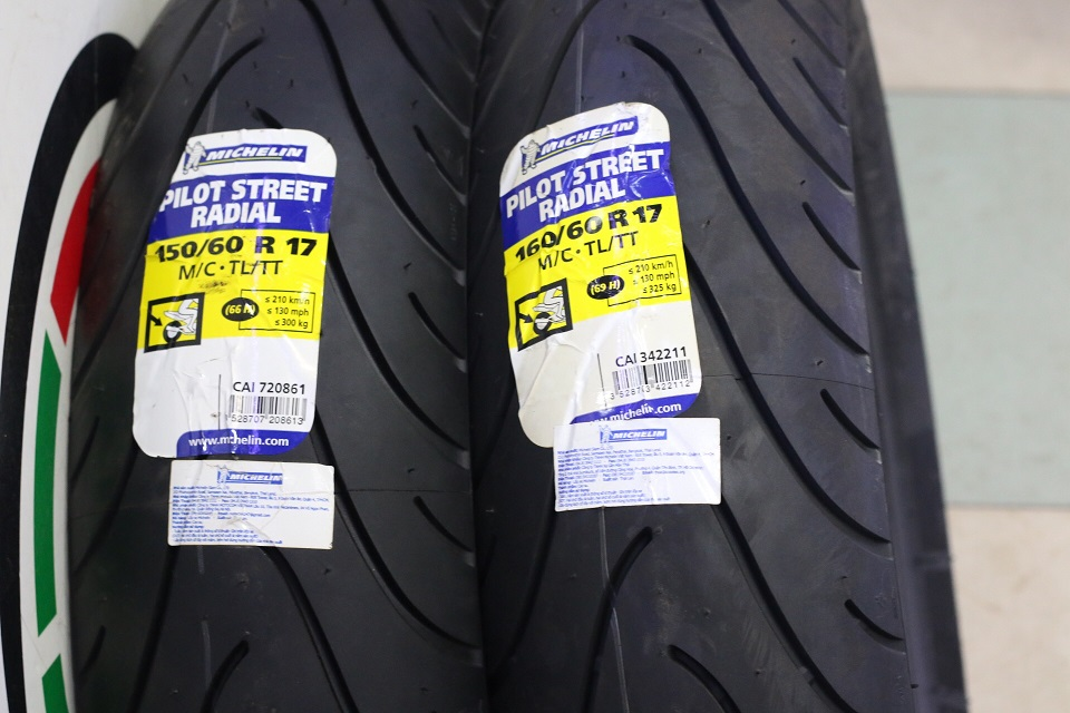Vỏ Micherlin Radial STD-650 Michelin, Vỏ Micherlin Radial